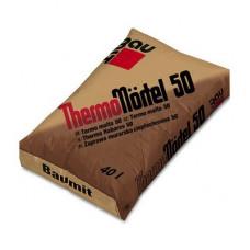 Теплоізоляційна легка суміш для кладки блоків Baumit ThermoMörtel 50